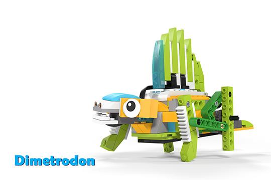 Wedo 2.0 curriculum Dimetrodon