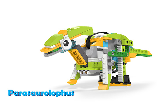 Wedo 2.0 curriculum Parasaurolophus