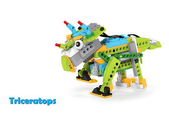 Wedo 2.0 curriculum Triceratops