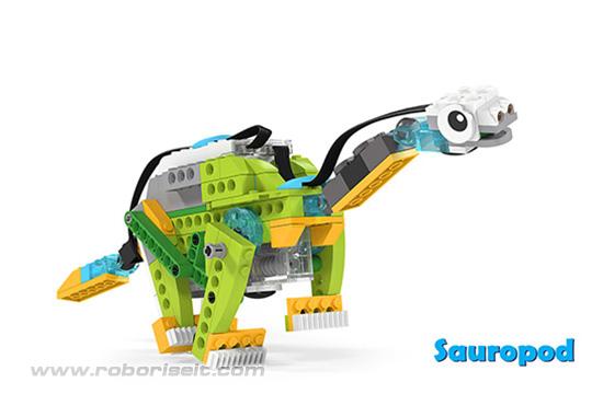 Wedo 2.0 curriculum Sauropod