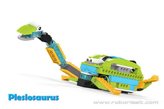 Wedo 2.0 curriculum Pleziosaurus
