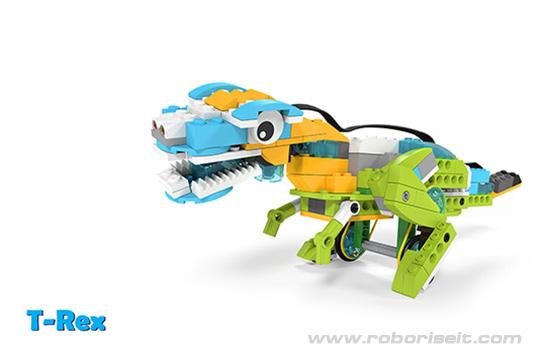 Wedo 2.0 curriculum T-Rex