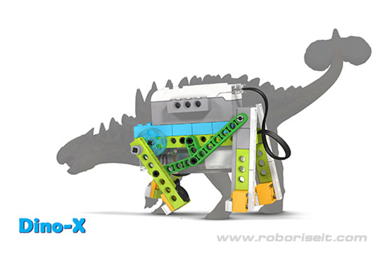 Wedo 2.0 curriculum Dino-X