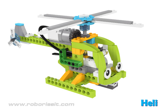 Lego Wedo Small Helicopter Building Instructions Helicopter And