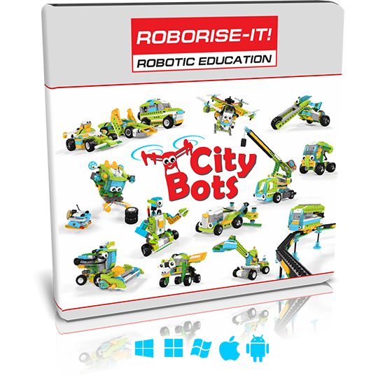 City Bots WeDo 2.0 curriculum