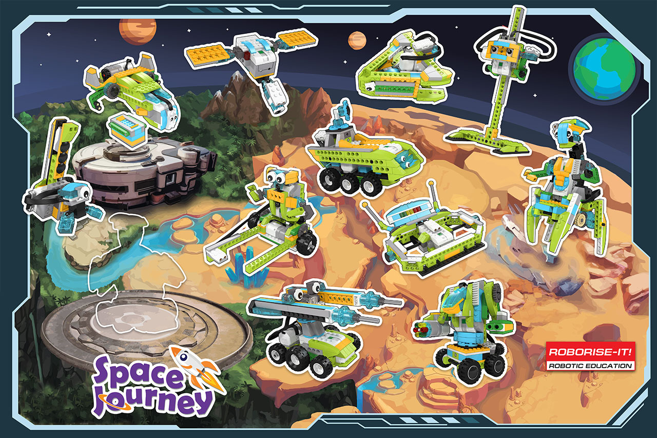 Space Journey Poster