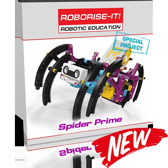Spider Prime robot