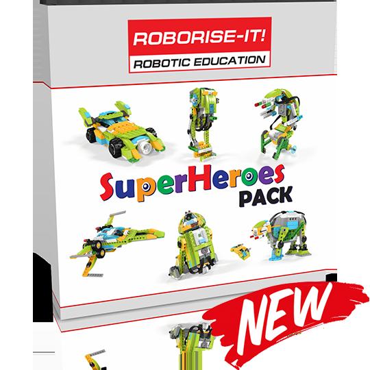 SuperHeroes Summer Pack